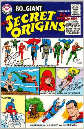 More Secret Origins Replica Edition Dynamic Forces Signed Gil Kane Sheldon Moldoff DF COA Ltd 500
